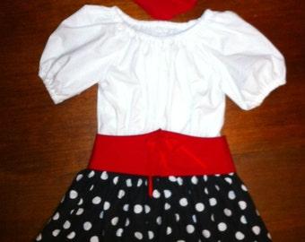 Toddler Pirate Girl