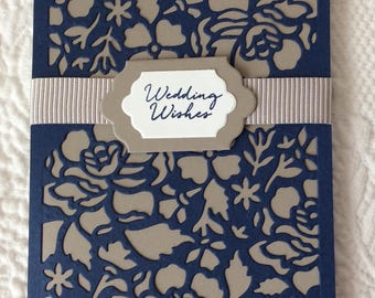 Wedding, Marriage, Engagement, Handmade, stampin up, card
