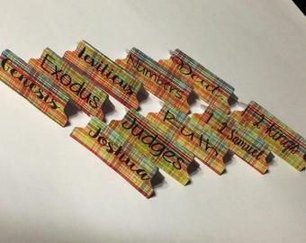 Multicolor Bible Tabs