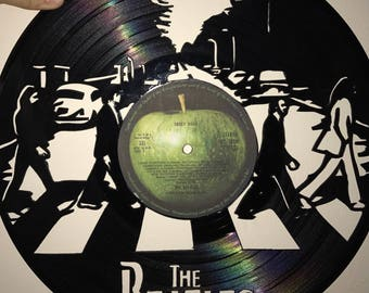 The Beatles Vinyl Art-Wall Decor