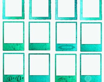 Ocean Frames, Mermaid Frames, Sea Frames, Cruise Clipart - Instant download - Digital Frames for Photographers