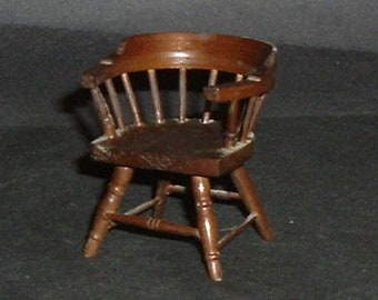 Miniature CAPTAINS CHAIR (Block House)