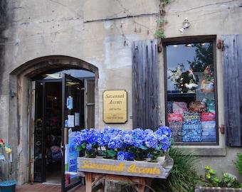 Flower Cart,River Street, Savannah,Ga.