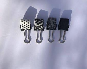Pen Holder, Pen Loop, Repositional Pen Holder, Repositional Pen Loop, Travelers Notebook, Planner, Journal, Blacks