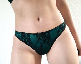 Flaskegrøn - knickers made to order