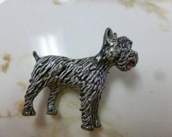 Vintage Gerrys Scottie Dog Pin FREE USA Shipping