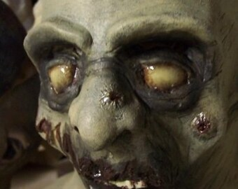 Zombie= Last Rites Latex Mask