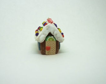 Mini Gingerbread House Ornament