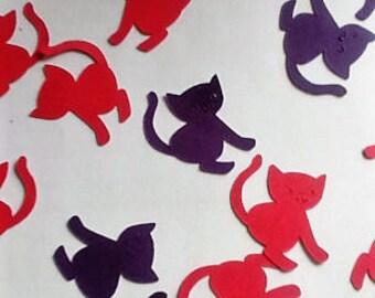 Valentine's Day,Engagement Party ConfettiKitty Confetti,Cat Birthday Confetti, Animal Lover Birthday,Cat Decorations