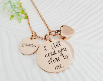 Rose gold cremation jewelry, rose gold cremation necklace, rose gold urn necklace, rose gold memorial jewelry, rose gold ashes necklace