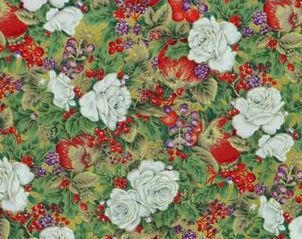Christmas Magic of Xmasroses by Woodrow Studios 920-41 Cotton Print Fabric