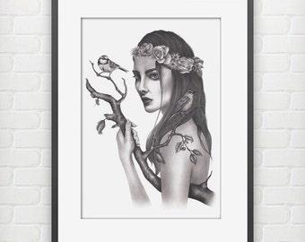 Coexist Fine Art Print