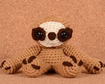 Sydney the Sloth Crochet Toy Doll