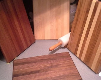 Hardwood Cutting Boards quality made-perfect for laser engraving-Great gift for Christmas!