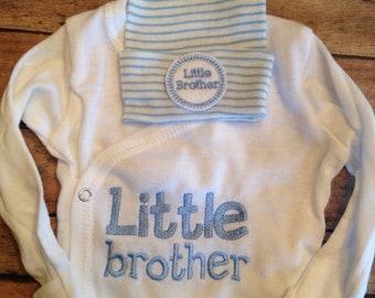 Little Brother Outfit - Little Brother Coming Home Outift