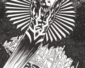 Original Comic Art Commissions