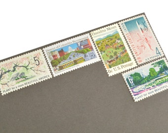 Unused Washington D.C. Love Stamp Set - Vintage Unused Postage for your wedding, event or every day mailings! Enough to mail 8 letters