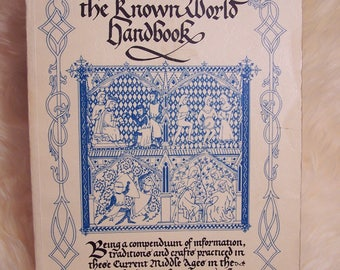 Known World Handbook SCA Society for Creative Anachronism 3rd Third edition 1985