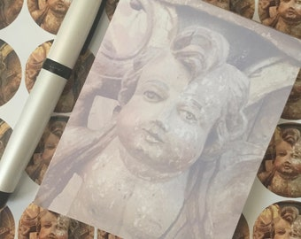 Cherub Notepad - New Orleans Stationery - theRDBcollection