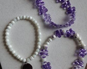 Spring Mix bracelets