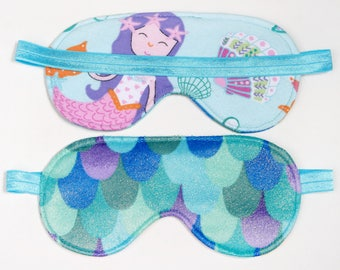 Mermaid Sleeping eye mask spa party sleep over pajama party favor