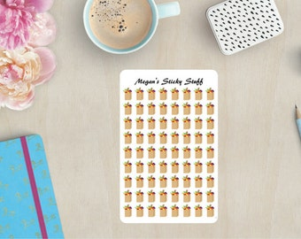 Grocery Bags Functional Planner Stickers