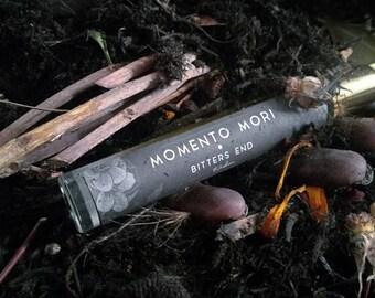 Essential Oil Perfume - Momento Mori : All Natural Botanical Scent \\ Perfume oil \\ Organic \\ Vegan \\  \\ OOAK \\ Christmas