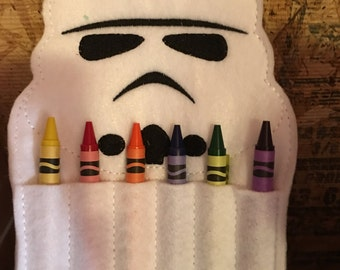 Dark Side Soldier Crayon Holder