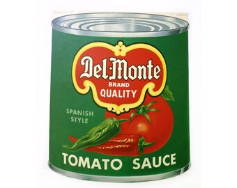 Vintage Del Monte Lithograph Advertising Poster