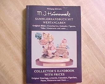Vintage Bilingual Hummel Collectors Handbook Part II by Wolfgang Schwatlo Dated 1996 w/ German & English, Sammlerhandbuch mit Wertangaben