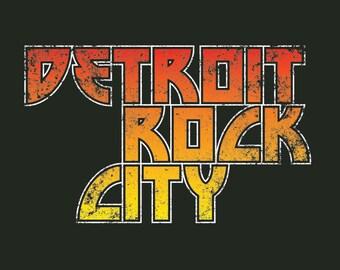 Detroit Archive Co. Detroit Rock City T-shirt