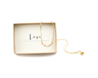 Love Morse Code Necklace, Love Necklace, Morse Code Jewelry, Love Jewelry, Love Necklace, Pink Morse Code, Gold Dainty Necklace