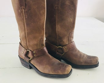 Vintage Leather Boots 9