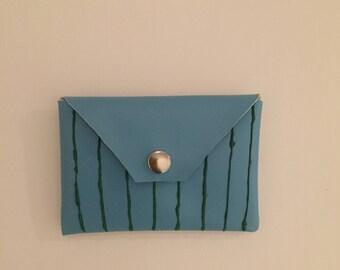 Faux Soft leather Purse Bag Clutch