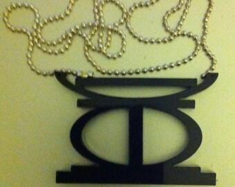 Clairely upcycled jewelry Kujichagulia  - Kwanzaa