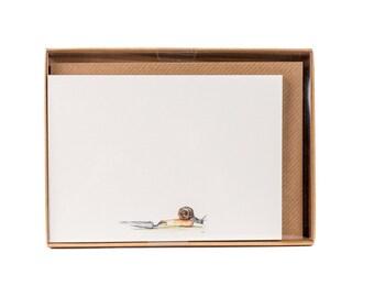 Snail Correspondence Postcards