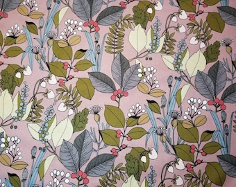 A GHASTLIE BOTANICAL in stock MAUVE Alexander Henry; half yard or yard cuts new 100% cotton quilting fabric