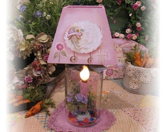 Cotton Candy Lamp,  Terrye French, pattern packet email