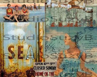 Collage Vintage Summer