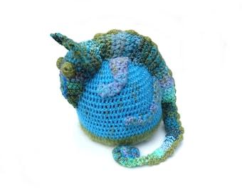 Chameleon Hat, Cute Chameleon, Lizard Hat, Iguana Hat, Reptile Hat, Kids Beanie, Children Hat, Winter Crochet Hat, Animal Hat, Unique Hat
