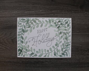 Christmas Card - Happy Holidays