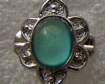 Vintage 1960-70's Fancy Mood Ring 205 Six Bud