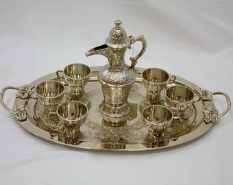 Handmade Zamzam Set (6 servings), zamzam, zemzem, drinking set, cup