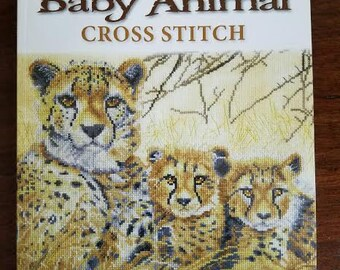 Mother and Baby Animal Cross Stitch : 16 Heart Warming Designs New Book UK