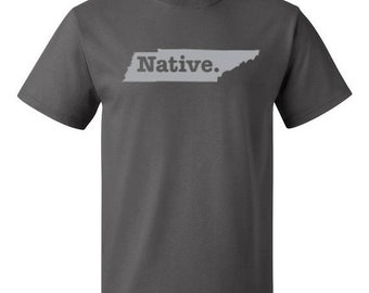 ON SALE - Tennessee Native State - Men's T-shirt