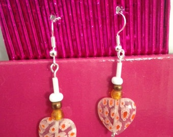 Hearts Earrings, Jewellery, Romance