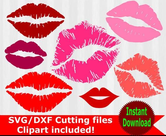 kissing lips svg and clipart kiss lips clip art lips svg lips rh etsystudio com Animated Kissing Lips kissing lips clipart free