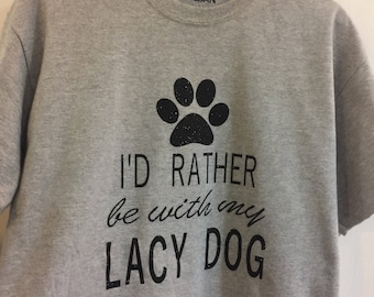 Lacy dog t-shirt!
