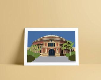 Royal Albert Hall A4 Print