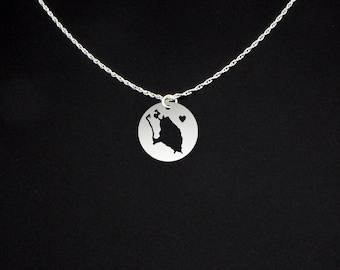 Barbuda Necklace - Barbuda Jewelry - Barbuda Gift